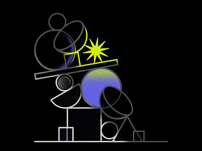 Balance adobe illustrator adobe still life still-life stilllife contrast illustration art unbalanced balance illustration design symbol vector graphic design illustration oksalyesilok oksal yesilok