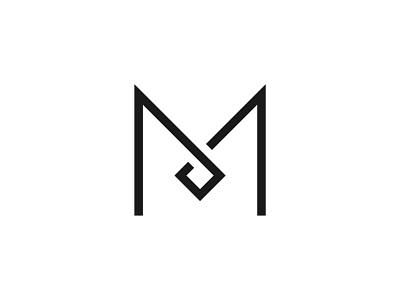 Brand Mark M brand identity branding design clinic knife minimal diamond m letter logo logo design symbol branding icon graphic design oksalyesilok design oksal yesilok