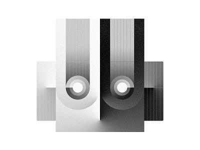 Robotto Head N˚II robotto oksalyesilok vintage robot oksal yesilok vector poster design poster illustration design