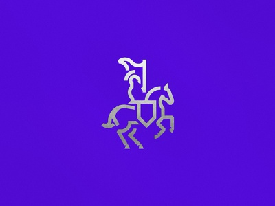 Lancelot Brand Mark symbol logo mark symbol logo design horse logo branding design graphic design graphicdesign knight horse icon oksalyesilok logo branding oksal yesilok illustration vector design