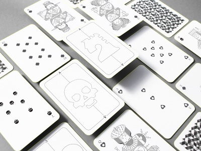 Whimsical Playing Arts | Design Deck print design product design packaging board game playingcard redesign concept playingcards character design illustration symbolism symbol icon redesigned playing arts playing cards playing card branding design oksal yesilok