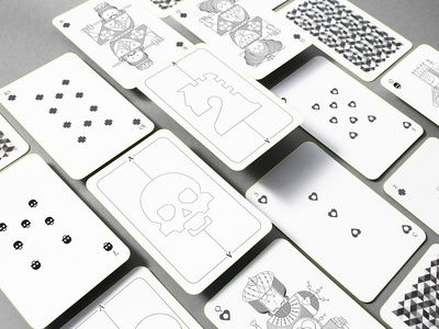 Whimsical Playing Arts | Design Deck