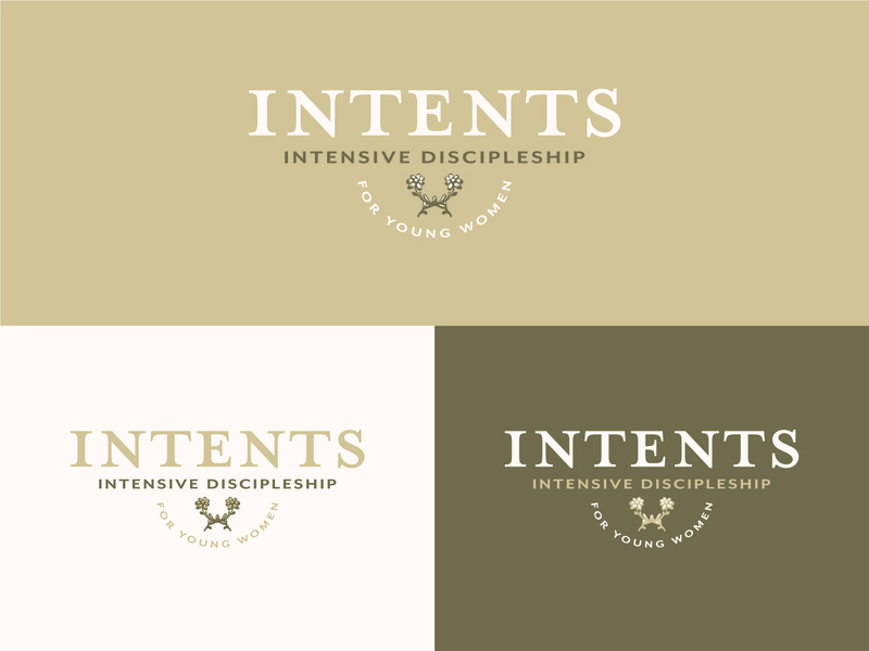 Intents Logo outdoordesign vintagedesign event branding vector logo typography illustration design logodesigner logodesign customlogo branding branddesign
