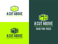 A Cut Above Lawn Care & Landscaping Logo