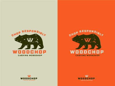 Woodchop Apparel Illustration