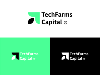 Logo Version 1 for TechFarms Capital of Pensacola, FL