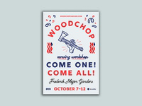 Woodchop Version 1 Event Poster
