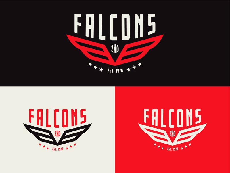 Falcons 18' Design event logo event apparel clothingdesign event artwork appareldesign outdoordesign art vintagedesign event branding creative vector logo typography logodesign logodesigner illustration design customlogo branding branddesign