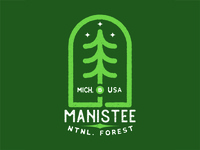 Manistee National Forest Apparel Design