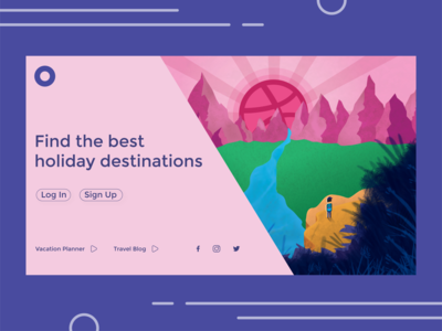 Vacation Planner - Landing