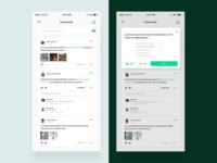 Community UI - Sharity App