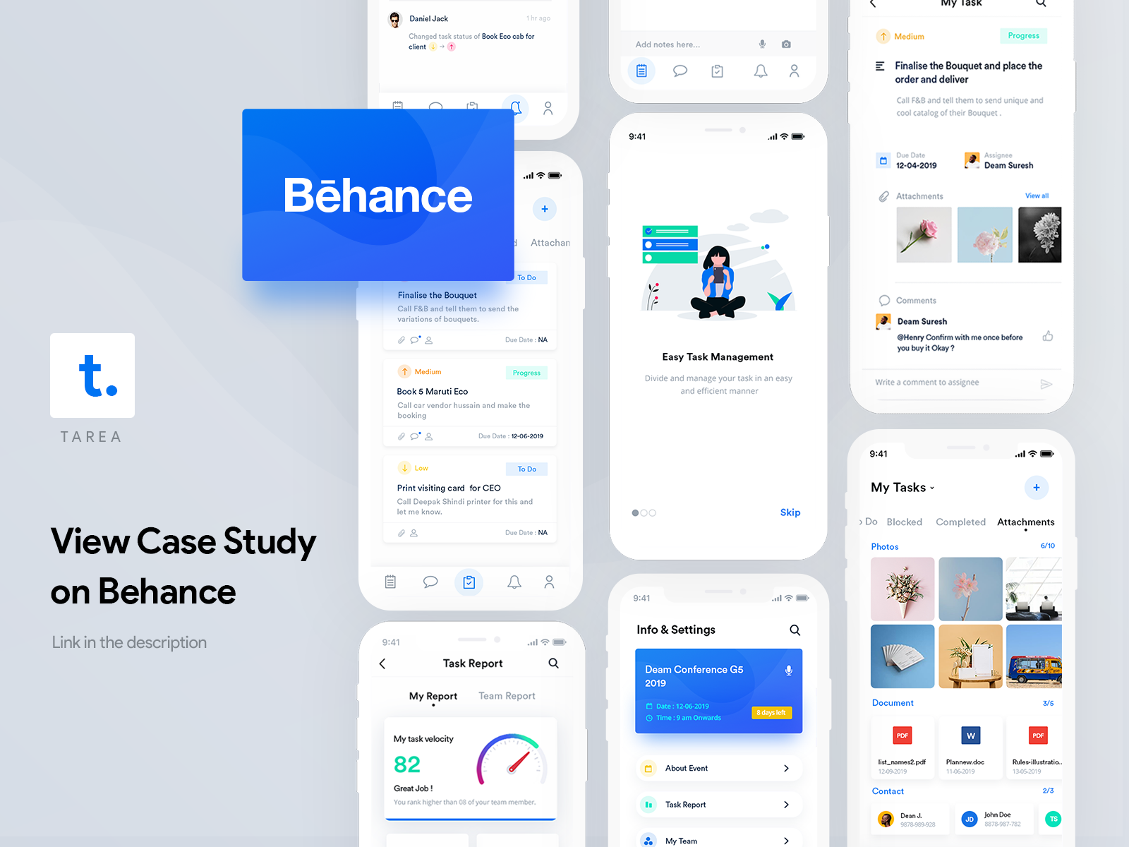 Case Studies Inspiration: A Roundup by aida pacheva, Henry Kunjumon and more