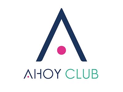 Ahoy Club Logo for iOS branding ui logo app