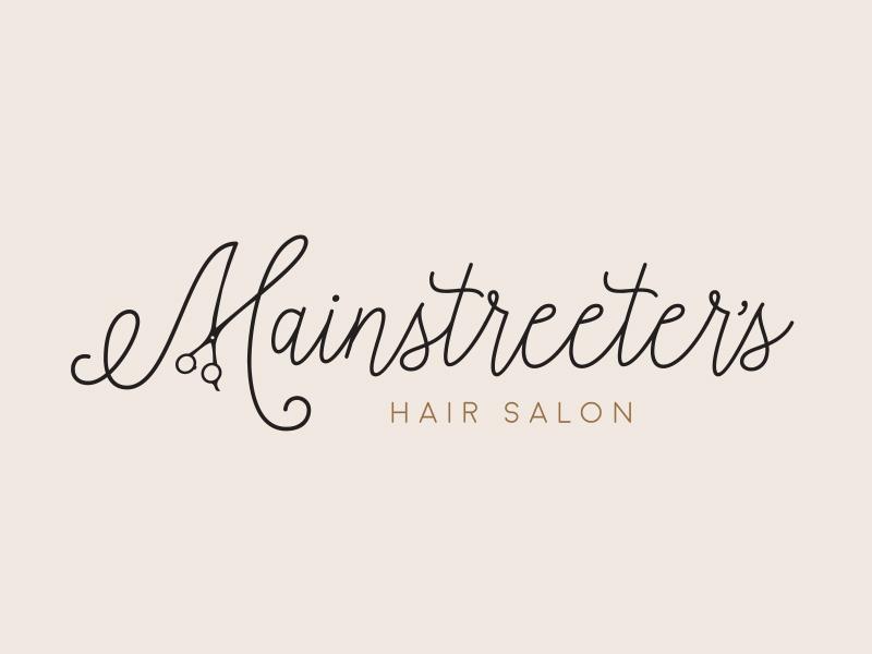 Mainstreeter's Hair Salon logo logo