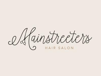 Mainstreeter's Hair Salon logo