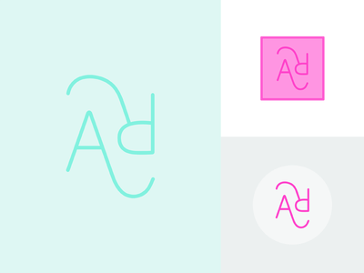 Exploring diff marks 4 me letters simple typography logo mark identity branding