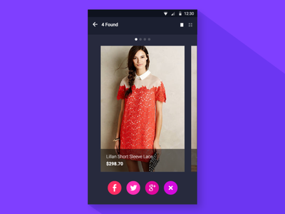Search by colors & patterns concept ui ux color mobile interaction fun animation fashion freebie aftereffect ae flat