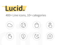 Lucid Line Icons