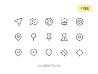 Location Icons Free