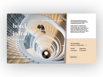 Hotel Jadran — Homepage