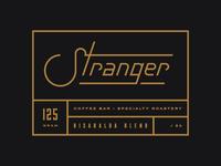 Stranger Risaralda blend label