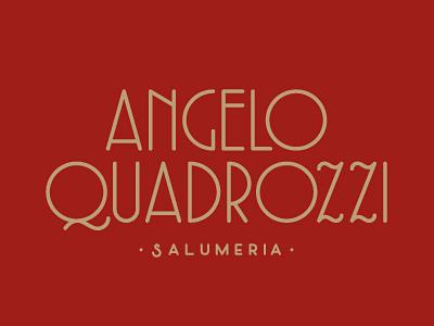 AQ logotype type salumeria