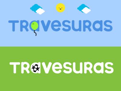 Travesuras font/logo