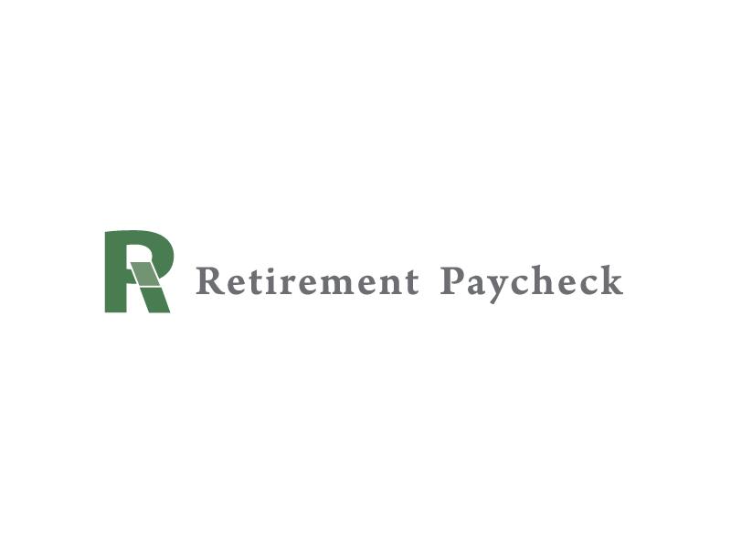 Retirement Paycheck Logo logo design design