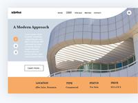Web Header - UI Design