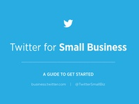 Twitter for Small Business Cover