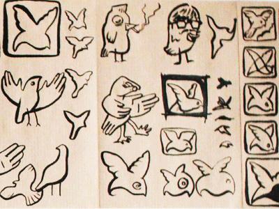 Bird sketch03