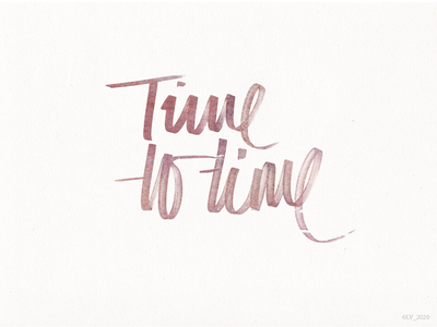 Time to_1 type calligraphy and lettering artist writing handwriting typoraphy lettering letterart calligraphy