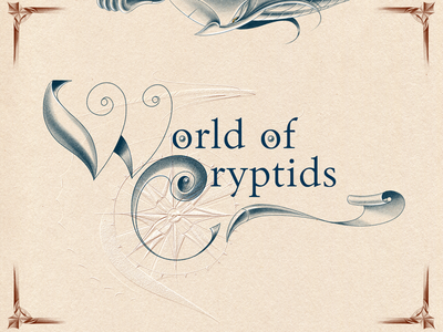 WORLD of CRYPTIDS digital art digital graphics digital illustration adobe sketch wacom intuos adobe photoshop character design digital graphic hand drawing drawing illustration