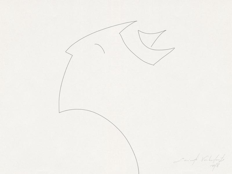 Line stories: minds are a ship linear illustration ship mind concept idea photoshop wacom illustration line drawn drawing