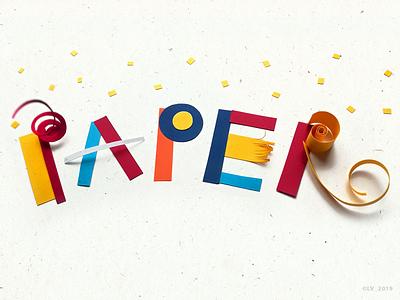 Paper 1 papercrafts crafts design handmade paper graphic illustration