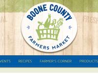 Boone Website Header Logo and Menu