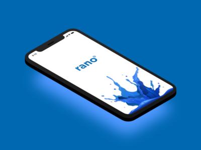 Rano mobile app uiux spashscreen figma splashscreen splashscreen ecommerce app water delivery water
