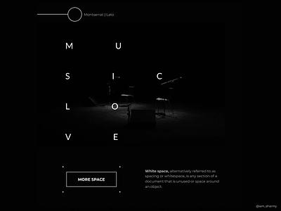 Whitespace music whitespace