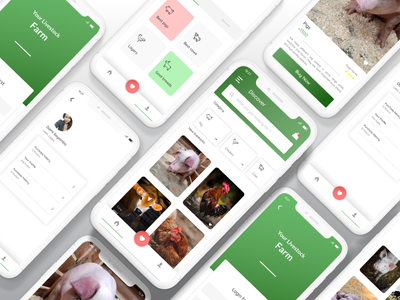 Farm Produce Ecommerce App farmers market ecommerce animal app farm