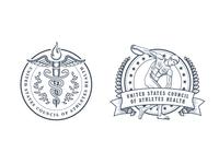 USCAH logo concepts