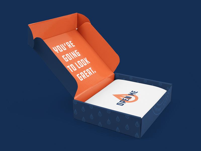 Hometown Co. Box logo package packaging box box design shipping box shipping identity branding brand