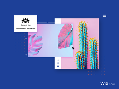 Photography & Art Direction Site screen flow browser social editor photographer photgraphy typography app wix web ux ui branding logo icon web design vector design