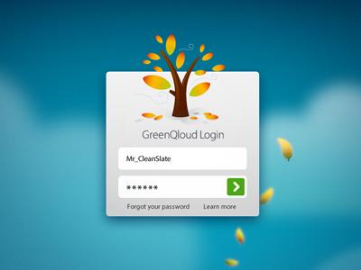 Green login