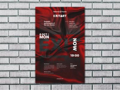 EXITART Poster
