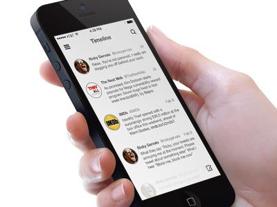 Twitter client iOS 7