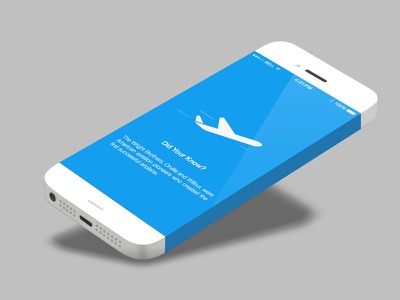 Mobile Expenses Loading Screen iphone sketch loading ios mobile ios7 clean minimalist expenses flight ui