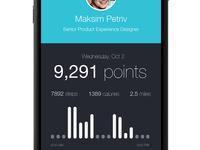iPhone 6: Fitness App