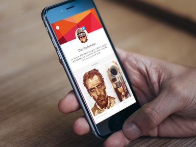 Design Hunt: Profile Page