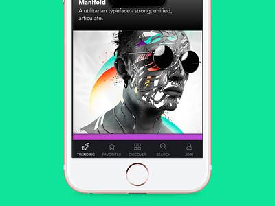 Design Hunt 2.0 mobile sketch discover ux app ios design