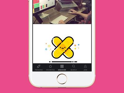 Design Hunt 2.0 - Dribbble app dribbble ux mobile ios design